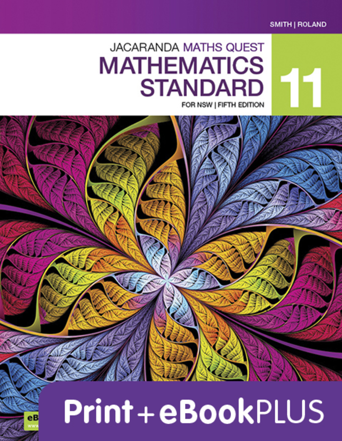 Jacaranda Maths Quest General 2 Preliminary Mathematics 5e LearnOn & Print