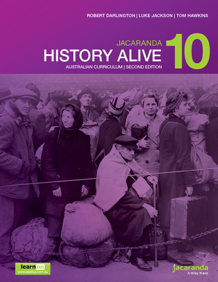 Jacaranda History Alive 10 Australian Curriculum 2e learnON & Print