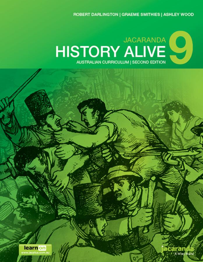 Jacaranda History Alive 9 Australian Curriculum 2e learnON & Print
