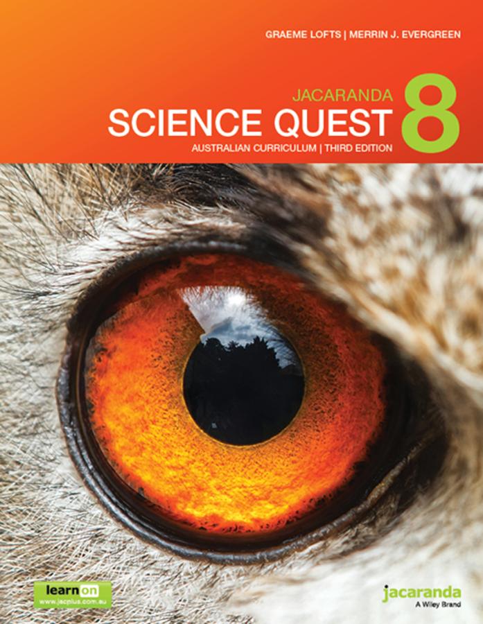 Jacaranda Science Quest 8 3e Australian curriculum learnON & print