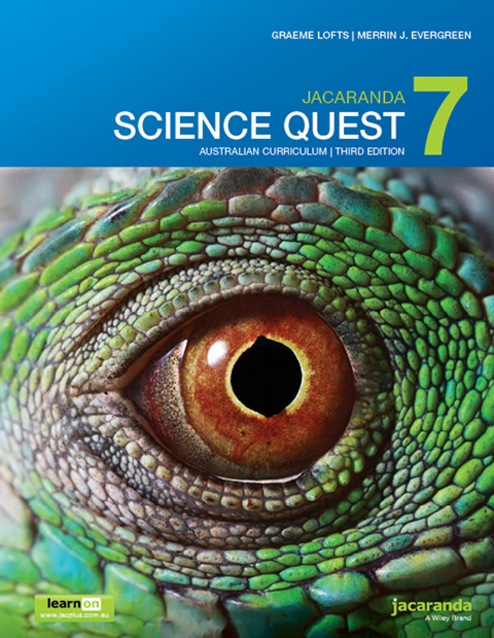 Jacaranda Science Quest 7 Australian Curriculum 3e learnON & print