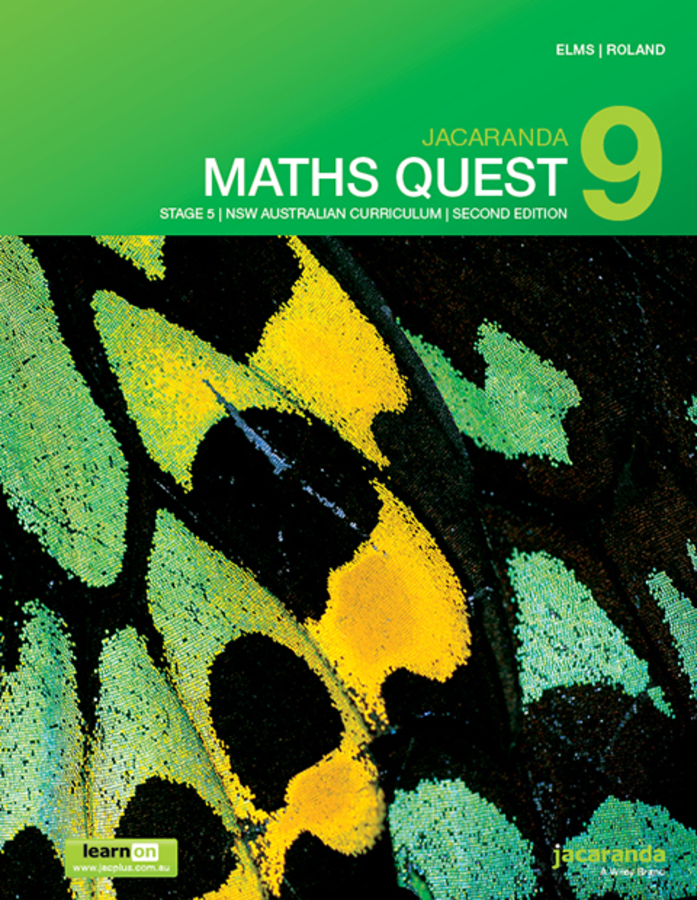 Jacaranda Maths Quest 9 Stage 5 2e NSW Australian curriculum learnON & print