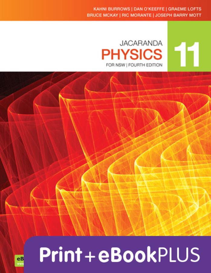 Jacaranda Physics 11 4e eBookPLUS & Print