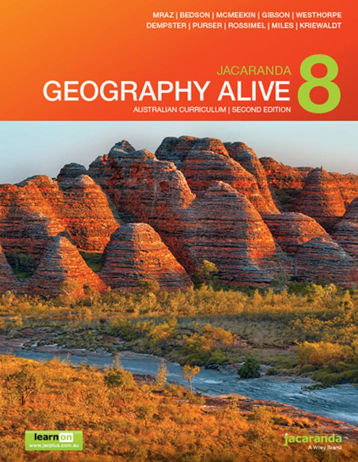 Jacaranda Geography Alive 8 Australian Curriculum 2e learnON & Print