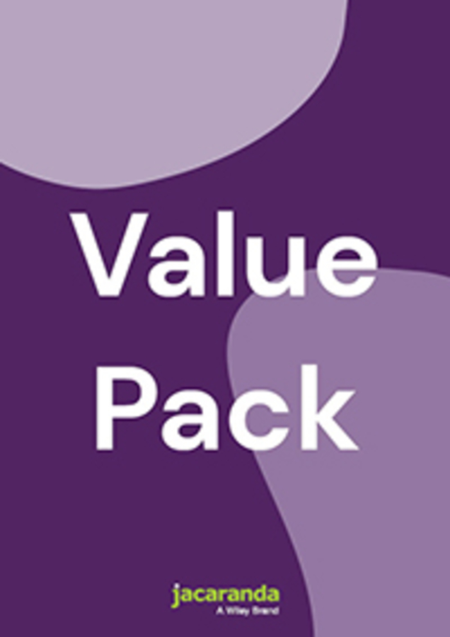 JACARANDA SCIENCE QUEST 7 FOR THE AUSTRALIAN CURRICULUM 3E LEARNON & PRINT + ASSESSON SCIENCE QUEST 7 AUSTRALIAN CURRICULUM 2E (REG CARD) VALUE PACK