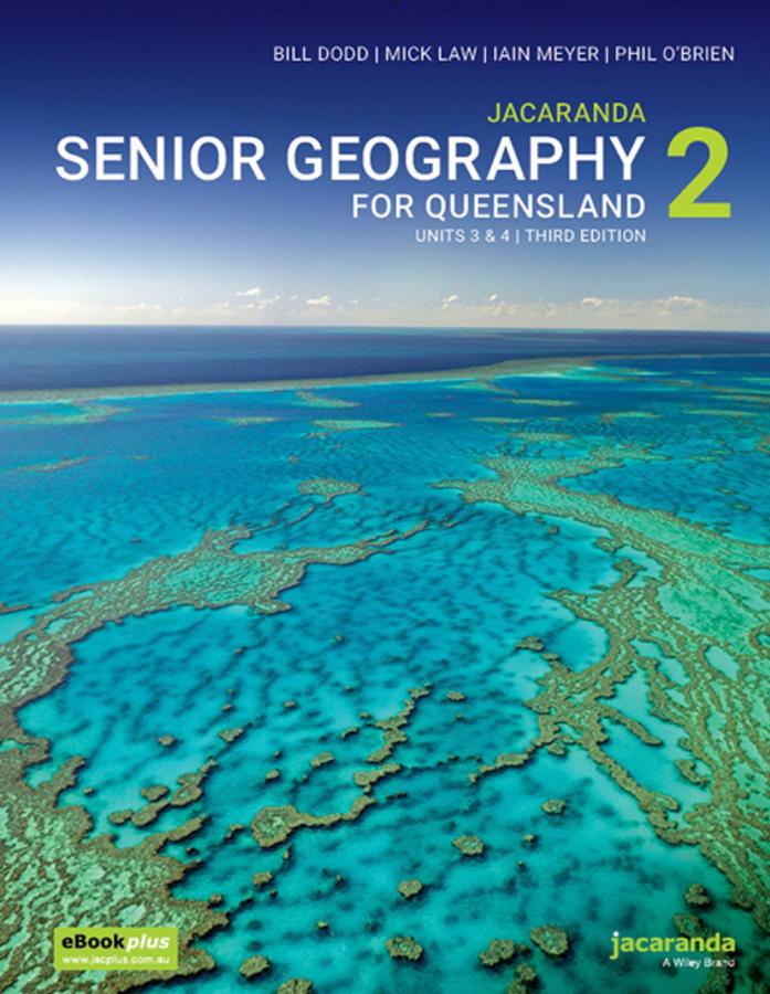 Jacaranda Senior Geography 2 for Queensland Units 3&4 3E eBookPLUS + print