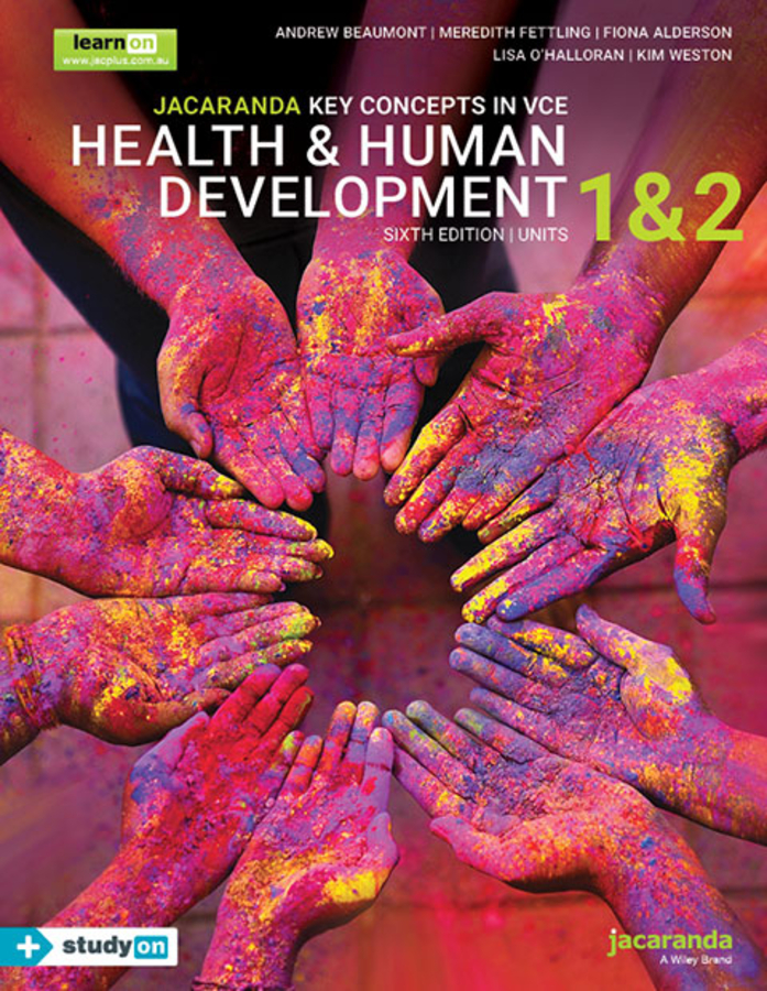 Jacaranda Key Concepts in VCE Health & Human Development Units 1 and 2
