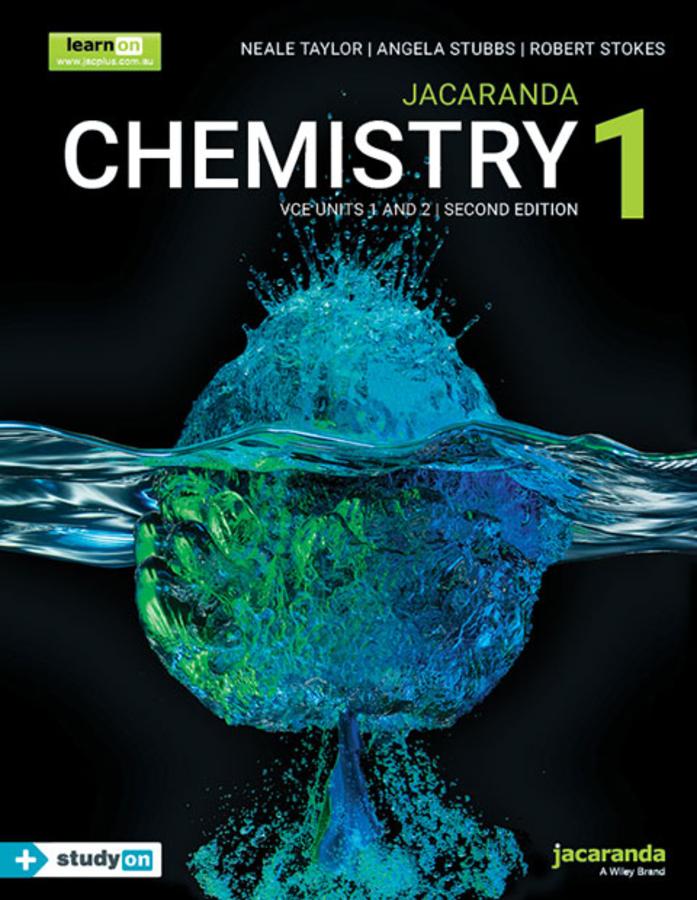 Jacaranda Chemistry 1 VCE Units 1 and 2, 2e learnON and Print + studyON