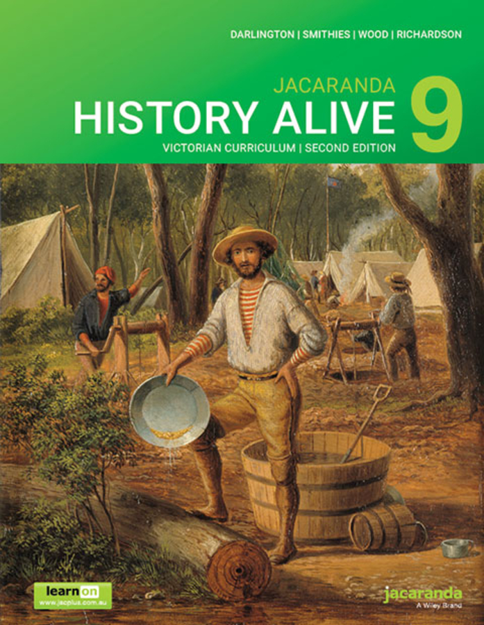 History Alive 9 Victorian Curriculum 2E learnON and Print